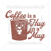 Coffee Is A Hug In A Mug Vector Design