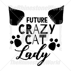 Crazy Cat Lady SVG