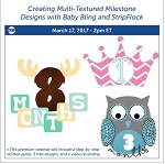 Creating Multi-Textured Milestone Designs - March 17th, 2017