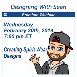 Designing with Sean - February 20th 2019