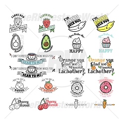 Cute Foods Live Template Mini Pack 2
