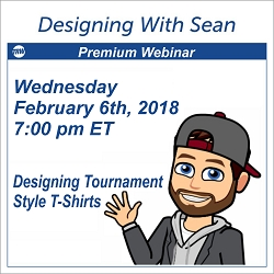 Designing with Sean - February 6th 2019