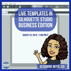 Designing With Lisa - August 23rd 2018