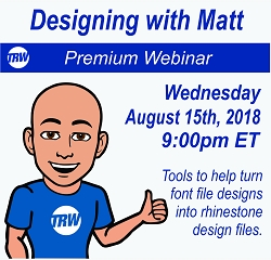 Designing with Matt - August 15th 2018