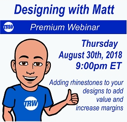 Designing with Matt - August 30th 2018