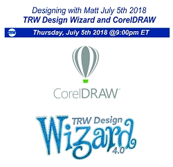 Designing with Matt - July 5th 2018
