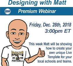 Designing with Matt - Dec. 28th 2018