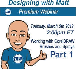 Designing with Matt - March 5th  2019