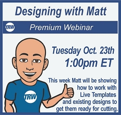 Designing with Matt - Oct. 23rd 2018