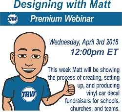 Designing and Production with Matt - Decal Fundraising Process