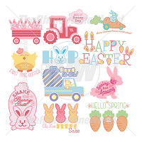 Happy Easter SVG Mini Pack