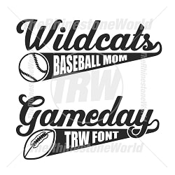 TRW Gameday 2 Font