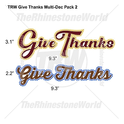 TRW Give Thanks Multi-Dec Design Pack 2