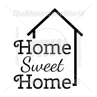 Home Sweet Home Vector Design