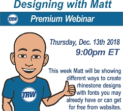 Designing with Matt - Dec. 13th 2018