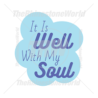 It Is Well With My Soul Vector Design