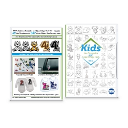 Kids Live Template and Clipart Mega Pack Vol. 1