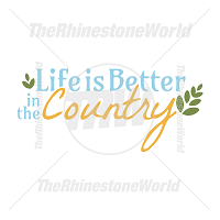 Life Is Better In The Country Vector Design