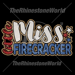 Little Miss Firecracker Vector - Download