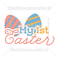 My 1st Easter Vector Design