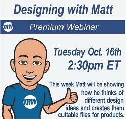 Designing with Matt - Oct. 16th 2018