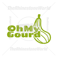 Oh My Gourd Vector Design