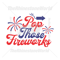 Pop Those Fireworks Vector Design