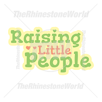 Raising Little People Vector Design
