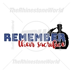 Remember Their Sacrifice Vector - Download