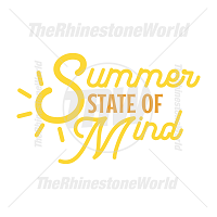 Summer State Of Mind Vector Design