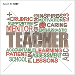 Teacher Terms Rhinestone Design - Download