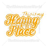 This Is My Happy Place Vector Design