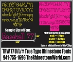 TRW 77 Special Rhinestone TTF - Download