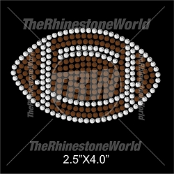 MINI FOOTBALL Rhinestone Design - Download