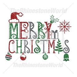 TRW Merry Christmas Super SVG Design