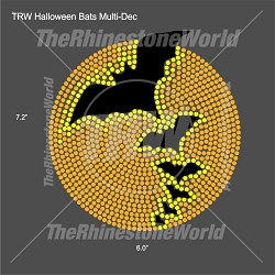 TRW Halloween Bats Multi-Dec