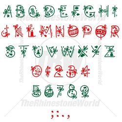 TRW Holiday Font 2