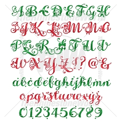 TRW Holiday Font