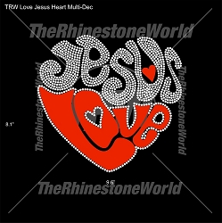 TRW Love Jesus Heart Multi-Dec