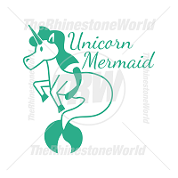 Unicorn Mermaid Vector Design
