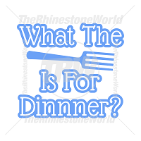 What The Fork Is For Dinner Vector Design