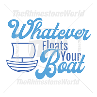 Whatever Floats Your Boat Vector Design
