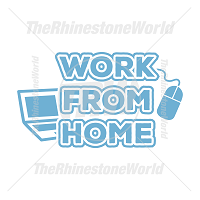 Work From Home Vector Design