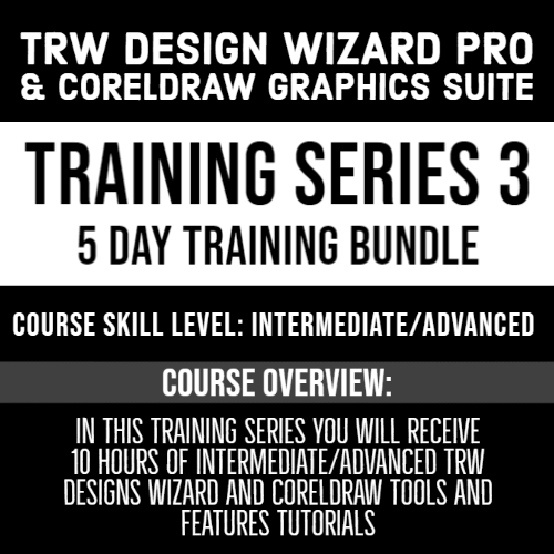 TRW Design Wizard Training Series 3 | 5 Part Series Bundle| March April 6th-10th