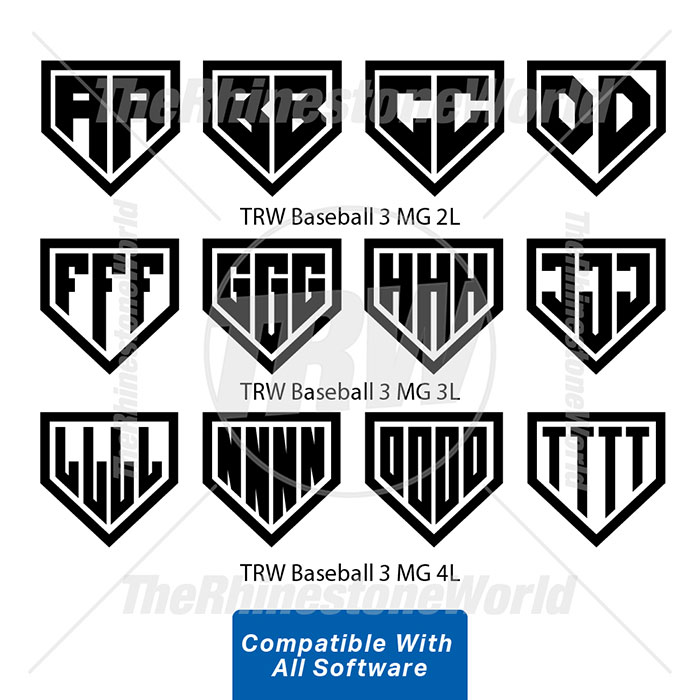 TRW Baseball 3 Monogram-For All Software - Download