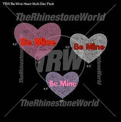 TRW Be Mine Hearts Multi-Dec Pack