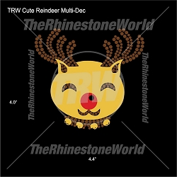 TRW Cute Reindeer Multi-Dec