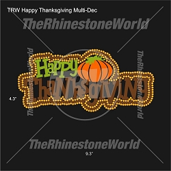 TRW Happy Thanksgiving Multi-Dec