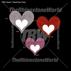 TRW Heart 1 Multi-Dec Pack
