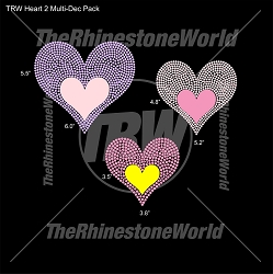 TRW Heart 2 Multi-Dec Pack